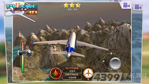 《模拟飞行3D》是一款3D模拟飞机驾驶游戏。游戏采用真实3D画面,将全景完美的带入其中,在场景上采用写实的风格,让玩家仿佛处身在现实与梦幻相互融合的情景之中。游戏中你将作为一名飞机驾驶员,操控飞机的起飞、飞行与降落,游戏初始设置了贴心的教程,让你可以迅速上手操控飞机安全飞行。游戏采用简单的操控模式,将油门滑块滑到顶部,为飞机提供飞行动力,再用操控杆来控制飞机飞行方向即可。喜欢此类游戏的玩家快来下载体验吧!