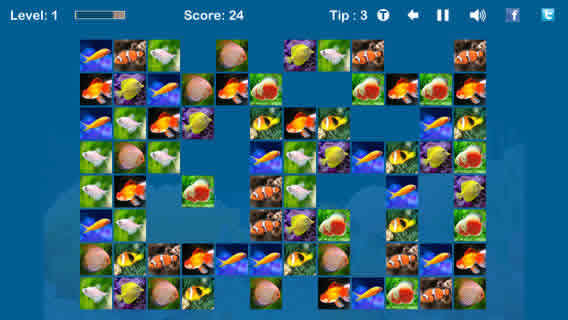 4399手机游戏 苹果游戏 休闲娱乐 鱼鱼连连看