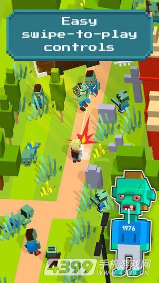 僵尸生存逃亡游戏截图