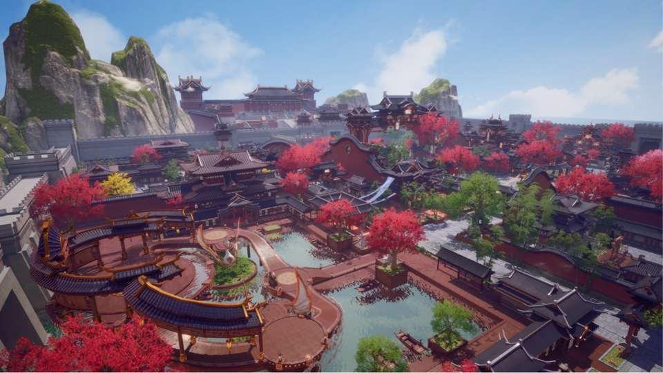 新玩法—领地战开场CG展示
