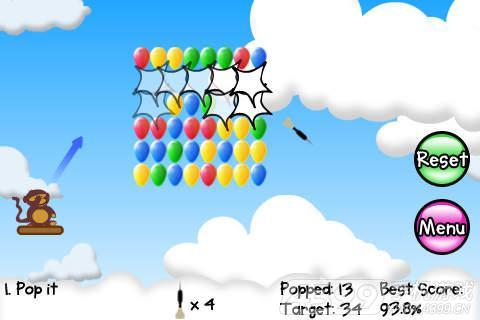 猴子射气球_猴子射气球游戏下载