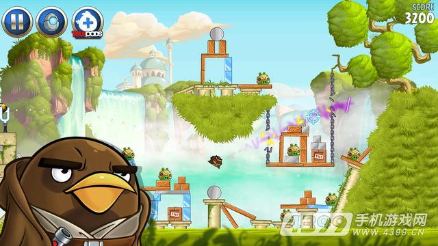 愤怒的小鸟星球大战2游戏截图