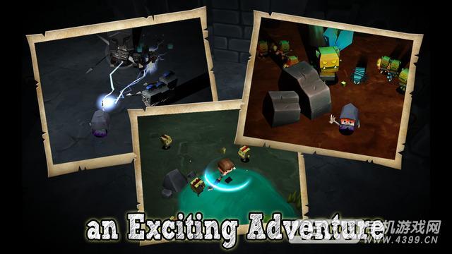 方块先生的冒险之旅游戏截图