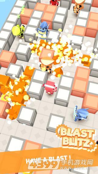 爆炸闪电战游戏截图