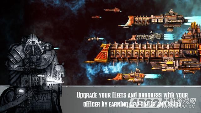 哥特舰队:利维坦游戏截图