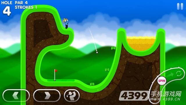 超级火柴人高尔夫游戏截图