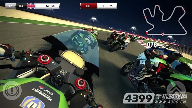 世界超级摩托车锦标赛游戏截图