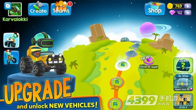 爆炸赛车游戏截图