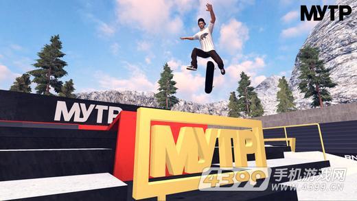 极限雪岭大赛:滑板人生游戏截图