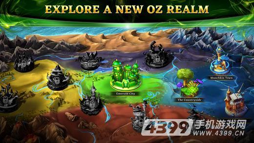 奥兹:破碎的王国游戏截图