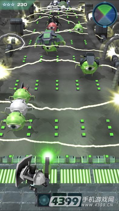 彩色机器人游戏截图