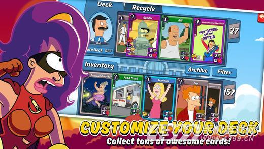 动画对决:卡牌探索游戏截图