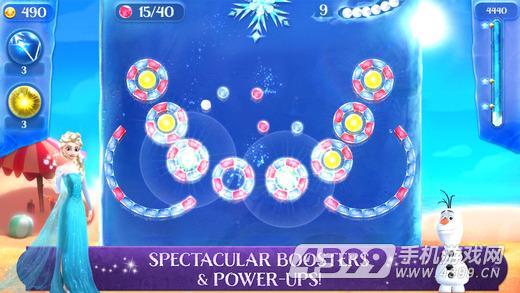 冰雪奇缘冰纷乐:冰风暴游戏截图