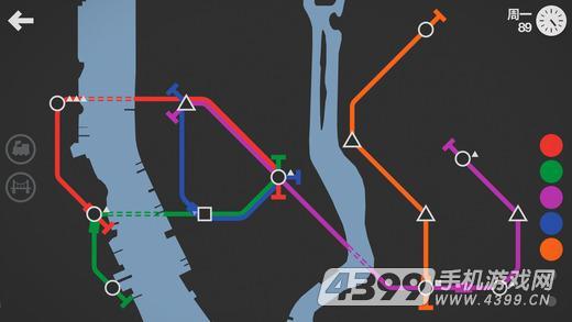 迷你地铁游戏截图