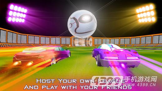 超级火箭球游戏截图