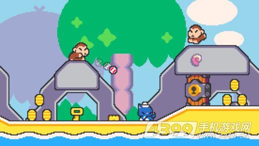 超级猫兄弟游戏截图