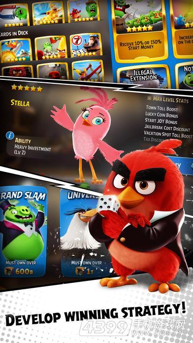 愤怒的小鸟:骰子游戏截图