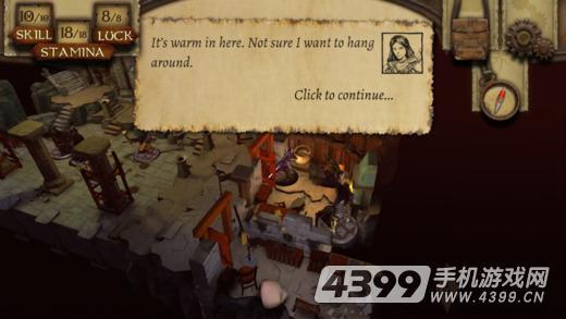 火焰山的术士游戏截图