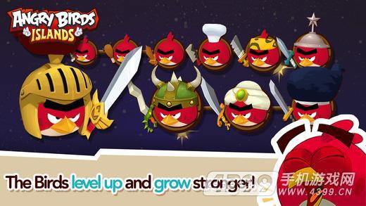 愤怒的小鸟:岛屿游戏截图