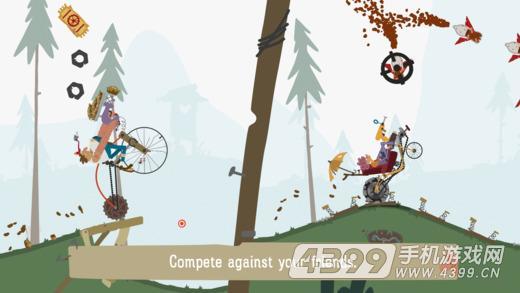 登山爬坡自行车游戏截图