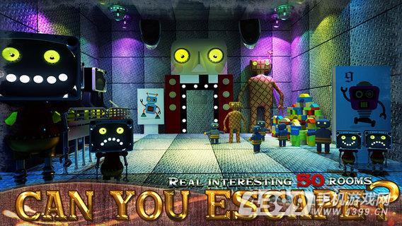 逃生挑战50个房间游戏截图