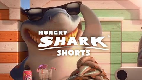饥饿的鲨鱼进化锤头鲨对于戴墨镜的执着宣传视频
