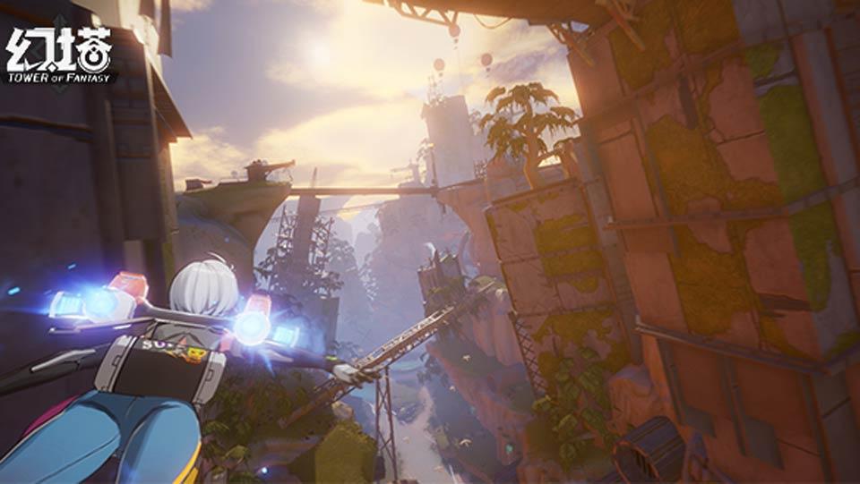 完美世界游戏发布会现场提供 幻塔实机演示