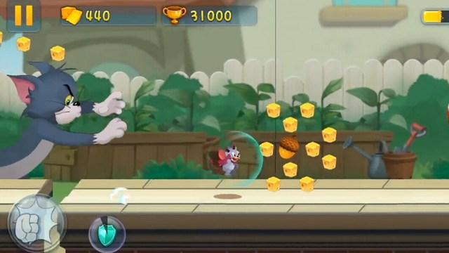 猫和老鼠手游跑酷游戏试玩