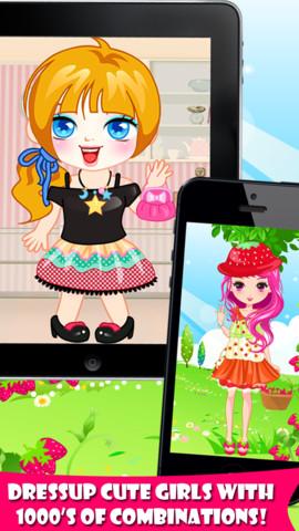可爱女生装扮_可爱女生装扮游戏下载