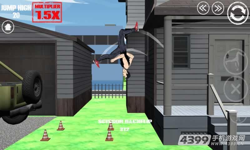 指尖滑动:疯狂的跑酷游戏截图