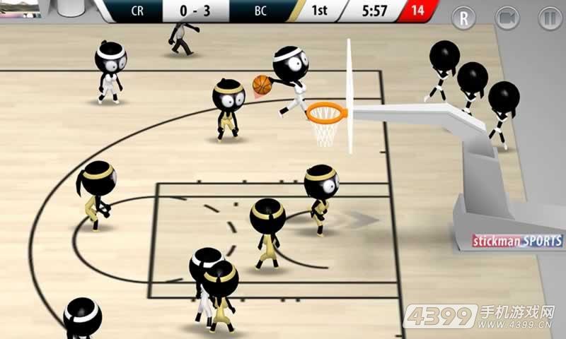 火柴人篮球2017游戏截图