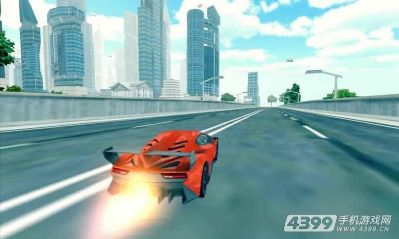 飞翔跑车3D游戏截图