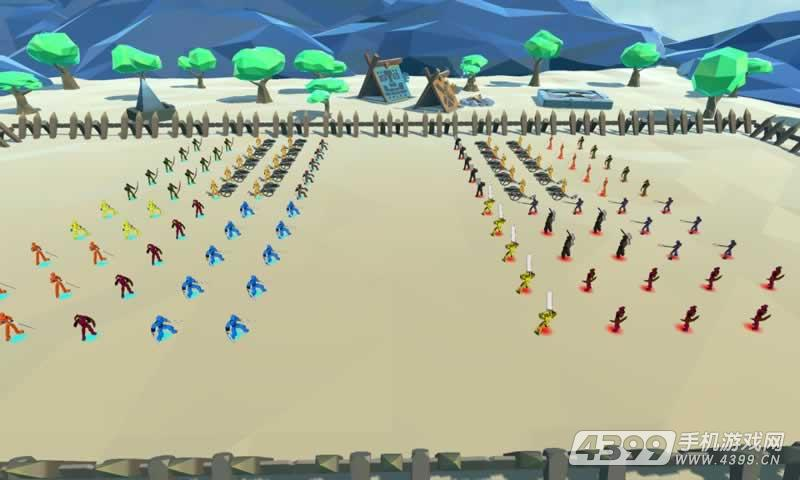方块大战争游戏截图