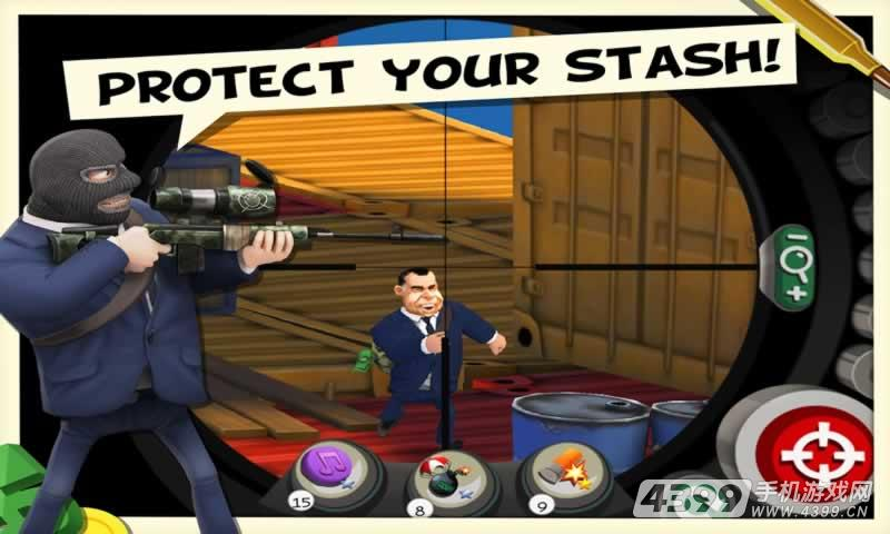 狙击手与大盗游戏截图