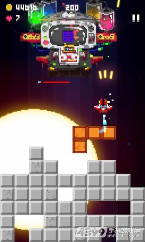 我的飞机大战:像素世界游戏截图