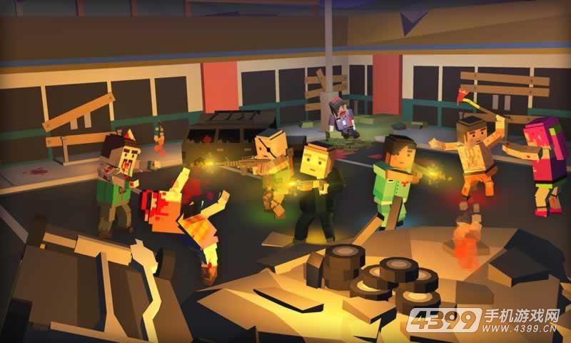 僵尸围城:生存游戏截图