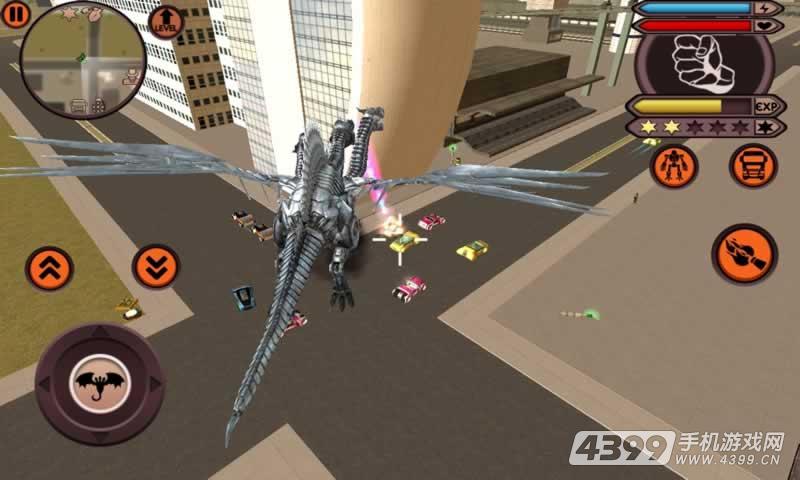 飞龙变形机器人游戏截图