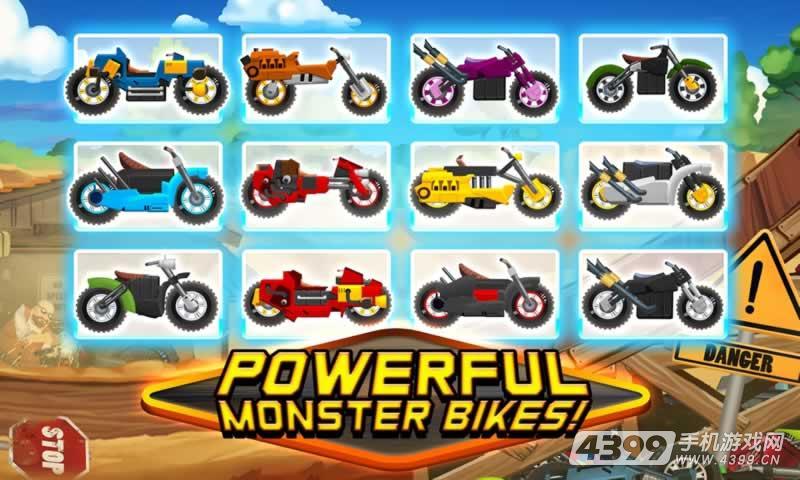 超级登山摩托车游戏截图