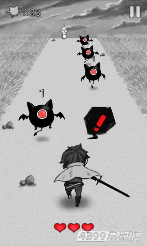 奔跑勇者游戏截图
