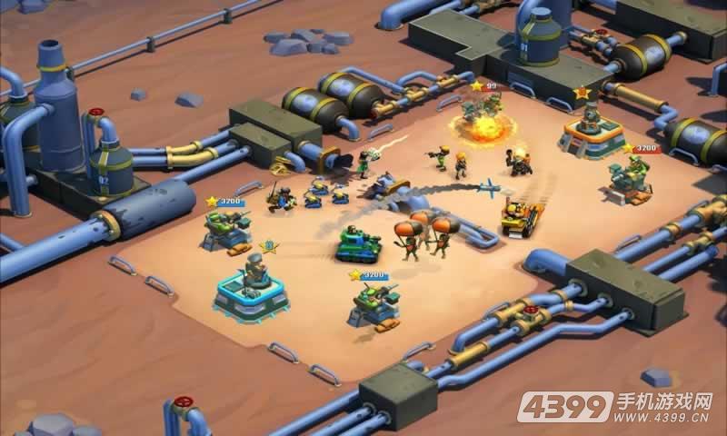 闪电部队:策略对决游戏截图