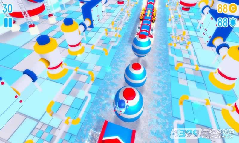 机器人障碍赛游戏截图