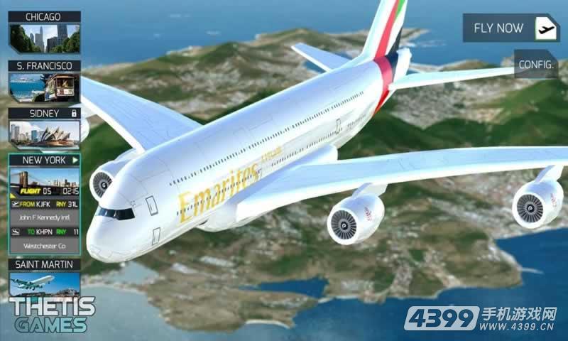 飞行模拟驾驶2017高清版游戏截图