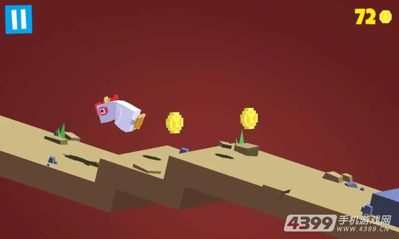 笨鸟跨山游戏截图