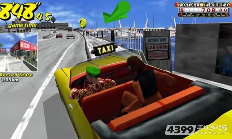 疯狂出租车2017游戏截图