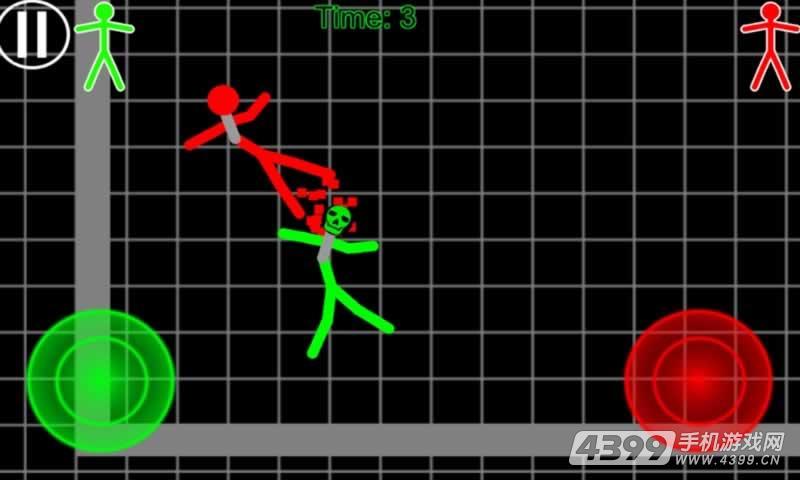 火柴人勇士3联网格斗 游戏截图