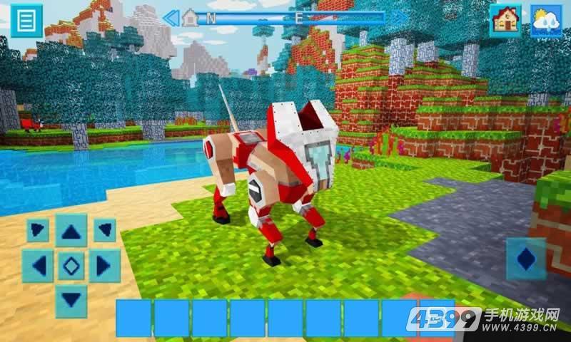 机器创造像素世界游戏截图