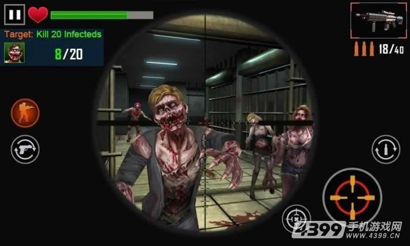 僵尸射击3D游戏截图