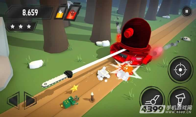 机器人大作战游戏截图