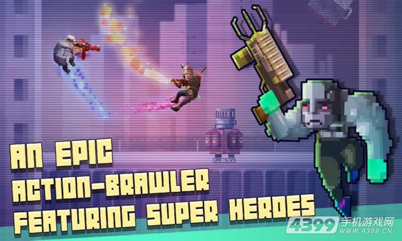 超级英雄战斗俱乐部游戏截图