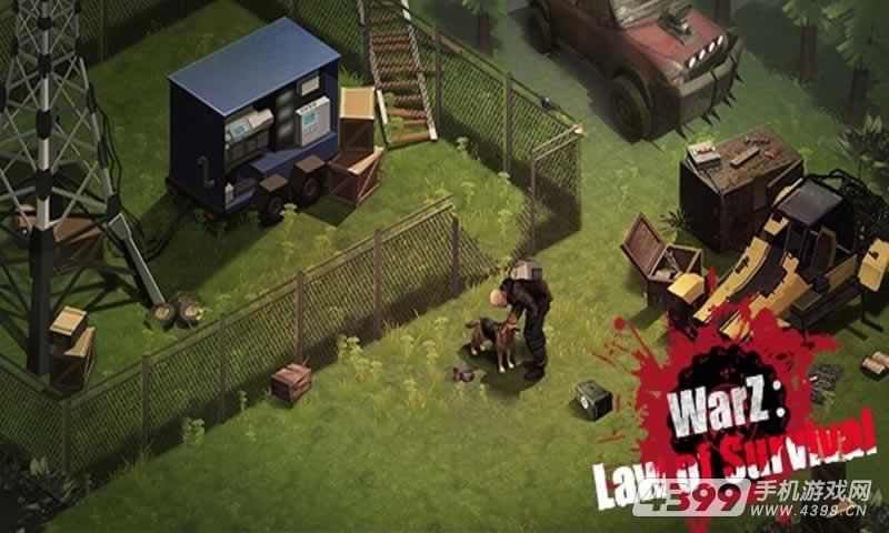 僵尸战争:生存法则游戏截图